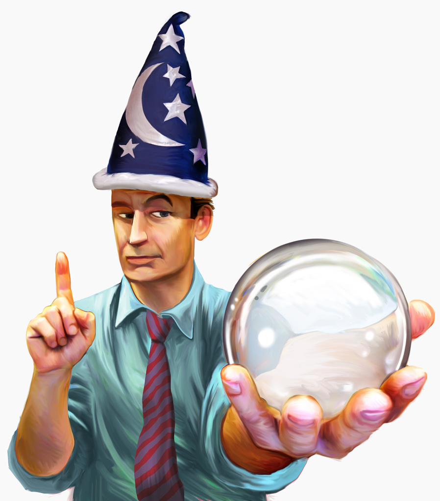 crystal ball wizard