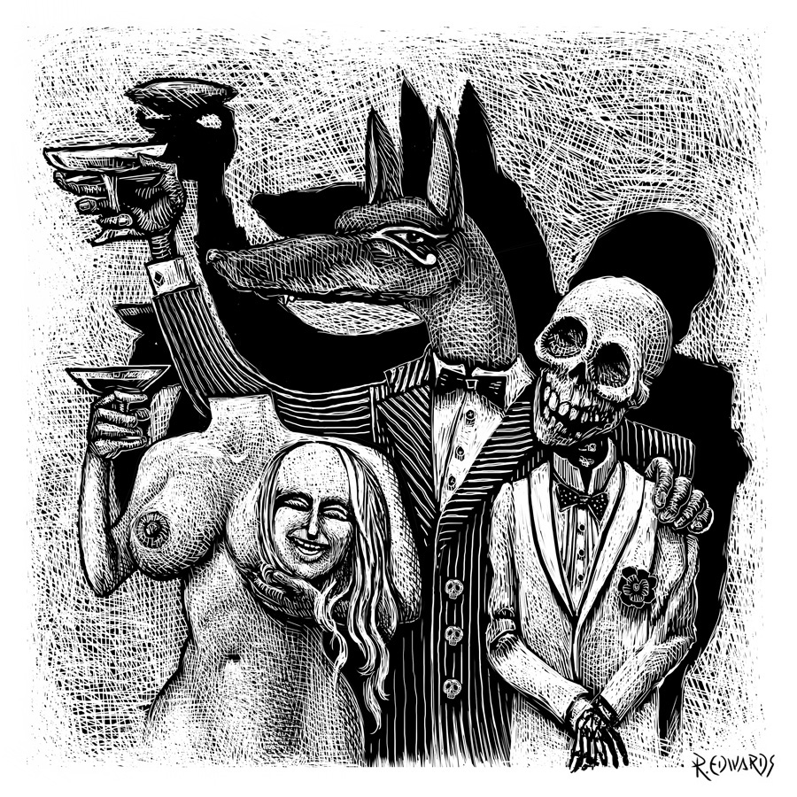 orgy Anubis and friends