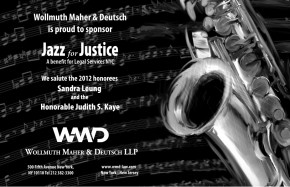 Jazz for Justice ad